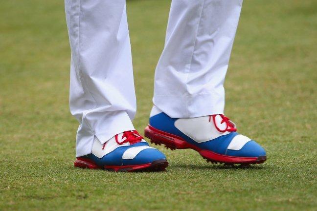Keegan Bradley Breaks out USA-Themed Jordan Golf Shoes for the 2014 US Open