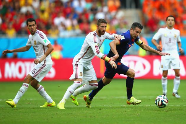 Spain vs. Netherlands: Live Player Ratings