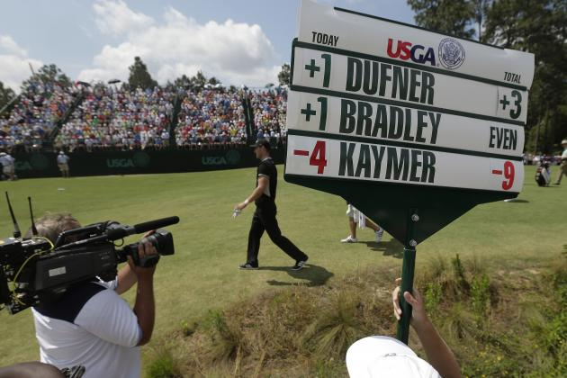 Kaymer Breaks McIlroy's 36-Hole U.S. Open Scoring Record