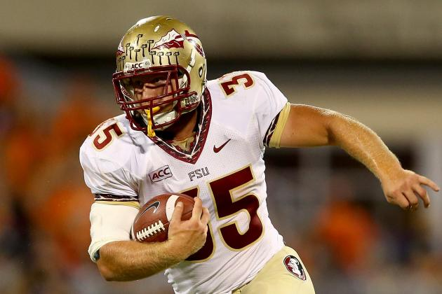 FSU TE Nick O'Leary Back to '100 Percent' After Suffering Injuries Motorbike...