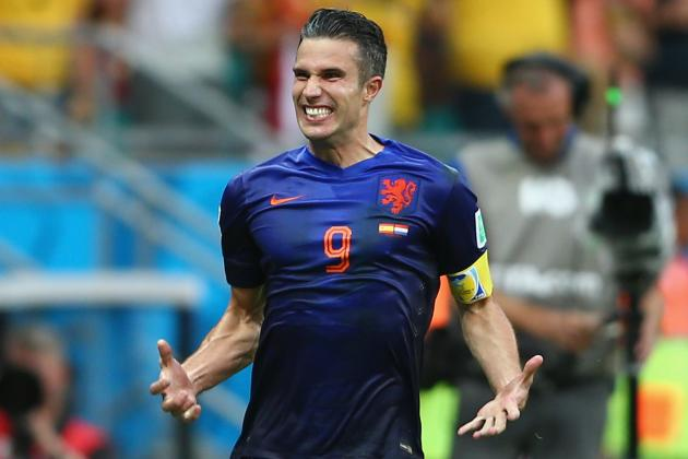 Twitter Reacts to Robin Van Persie's Brace vs. Spain