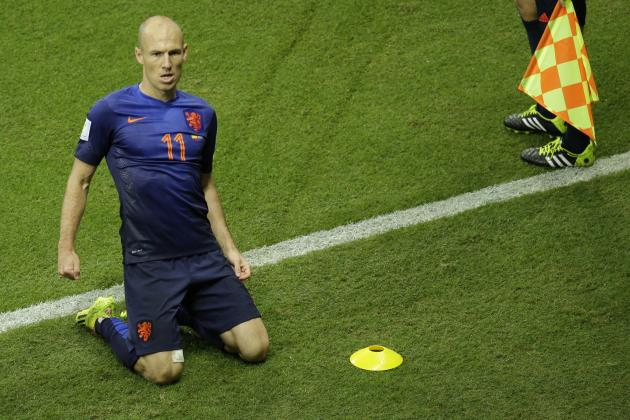 Twitter Reacts to Arjen Robben's Performance vs. Spain in 2014 World Cup