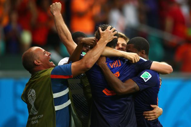 Twitter Reacts as Netherlands Dominates Spain 5-1 in 2014 World Cup