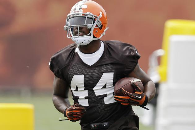 Ben Tate Not Scared by Any Other Browns Running Back
