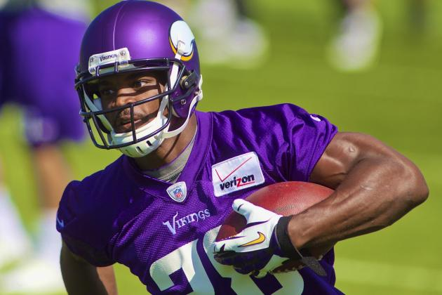 Will Adrian Peterson Return to Rushing-Title Form in New Vikings Offense?