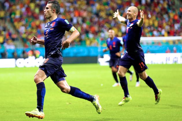 Rampant Robben, Van Persie, Sneijder Help Dutch Get World Cup Revenge on Spain
