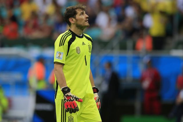 Iker Casillas Must Regain Top Form in Net for Spain to Avoid World Cup Flameout