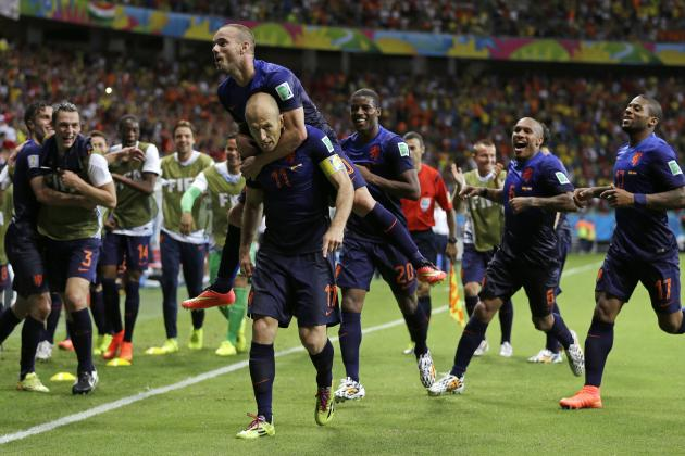 Rampant Robben, Van Persie, Sneijder Help Dutch Get World Cup Revenge on Spain