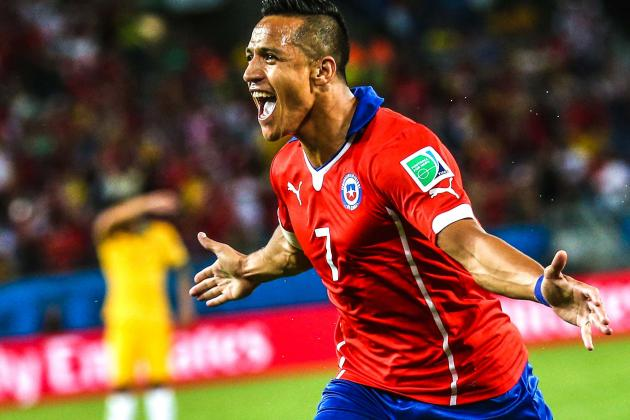Chile vs. Australia: FIFA World Cup Live Score, Highlights, Report