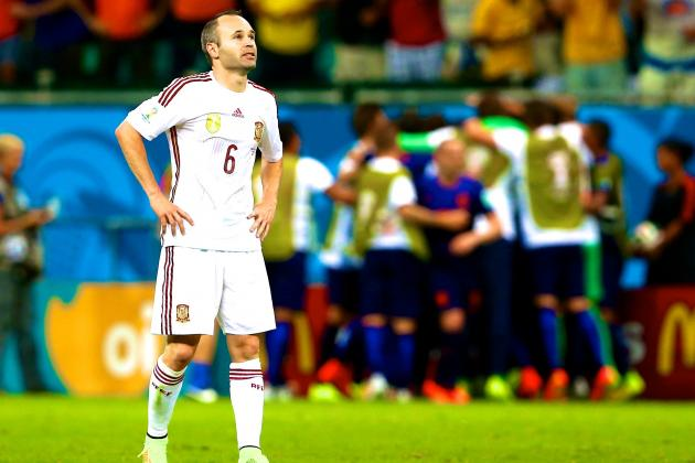 Humiliation Against Holland Showed That Spain's Players Have Lost Their Fire