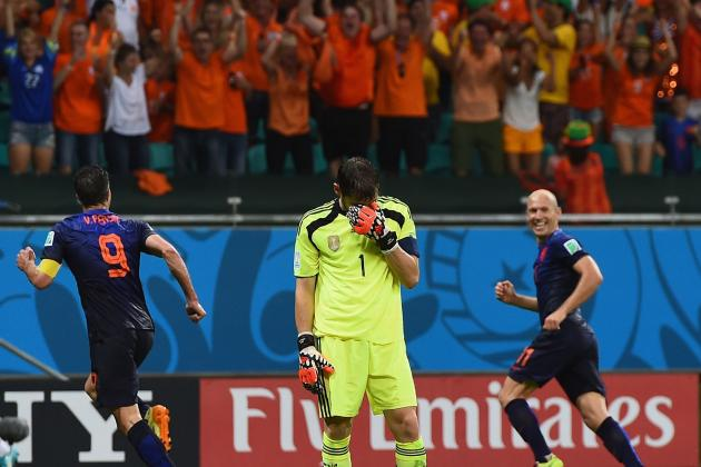 World Cup Daily Digest: No One Expects the Spanish Capitulation!