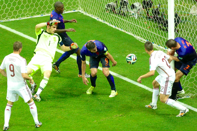 Spain's Defensive Frailties Are Ruthlessly Exposed in Stunning Loss to Dutch