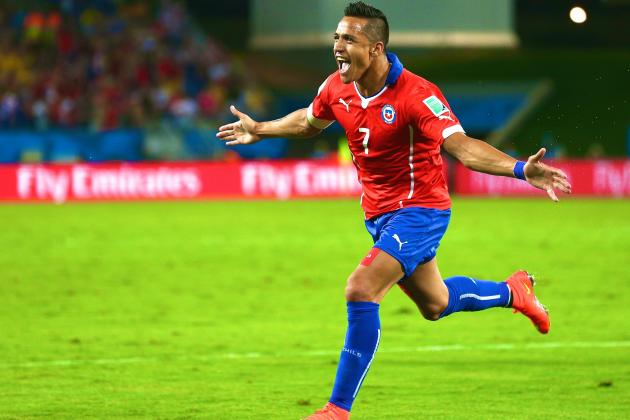 Chile vs. Australia: World Cup Group B Score, Grades and Post-Match Reaction