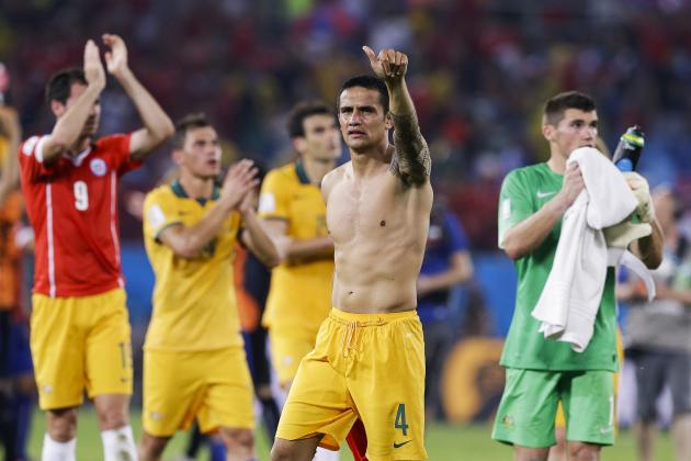 Australia Show World Cup Fight Against Chile Despite Inexperience