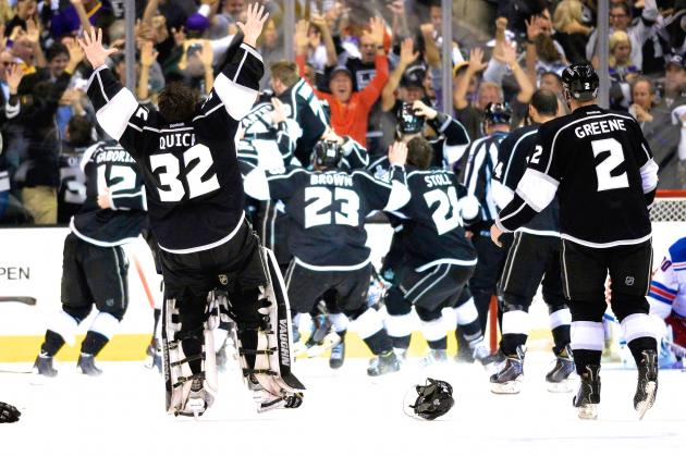 Rangers vs. Kings Game 5: Live Score, Highlights for Stanley Cup Final 2014