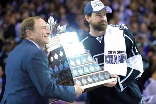 Consummate King Justin Williams Gets His Due with 2014 Conn Smythe Trophy