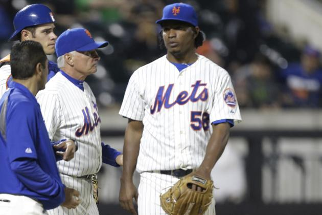 Jenrry Mejia Has MRI of Stiff Back