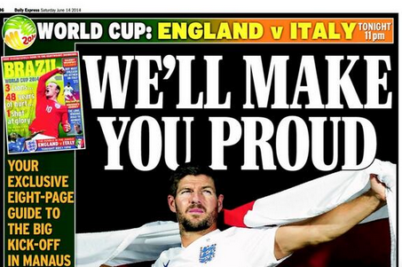 World Cup Paper Review: England Reach for Stars, Spain's Worldwide Humiliation