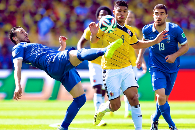 Colombia vs. Greece: Live Score, Highlights for World Cup 2014 Group C Game