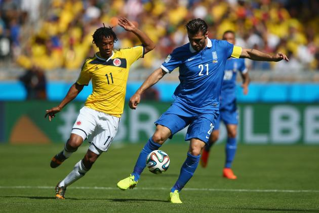 Colombia vs. Greece: Film Focus on Jose Pekerman's Free-Flowing Attack