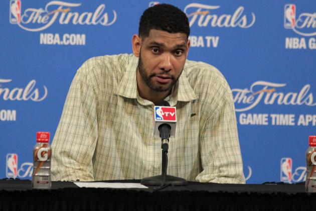 Report: Tim Duncan Has Until June 24 to Decide to Opt in or out for Next Season