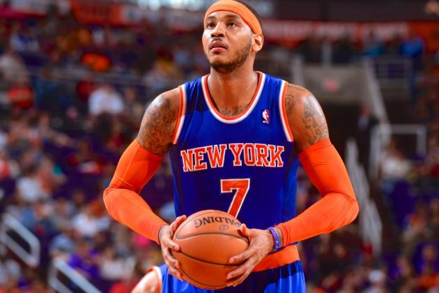 Report: Carmelo Anthony 'Leaning Toward' Leaving New York Knicks in Free Agency