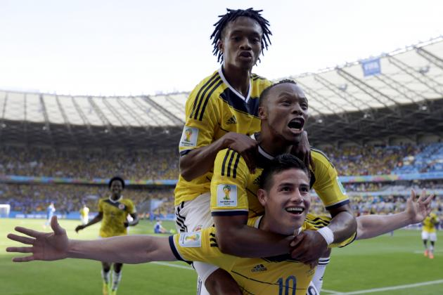 No Falcao, No Problem for Free-Flowing Colombia