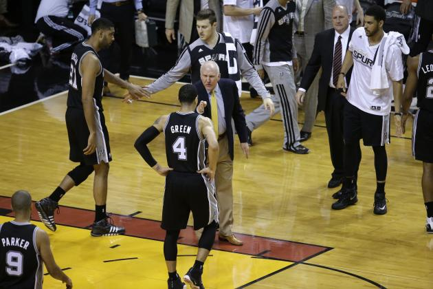 NBA Finals 2014: Updated Odds for San Antonio Spurs vs. Miami Heat Game 5