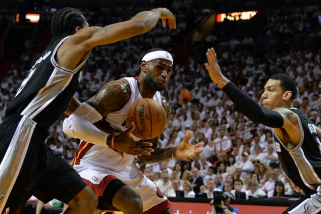 Miami Heat Stars Being Exposed vs. Dominant San Antonio Spurs Team