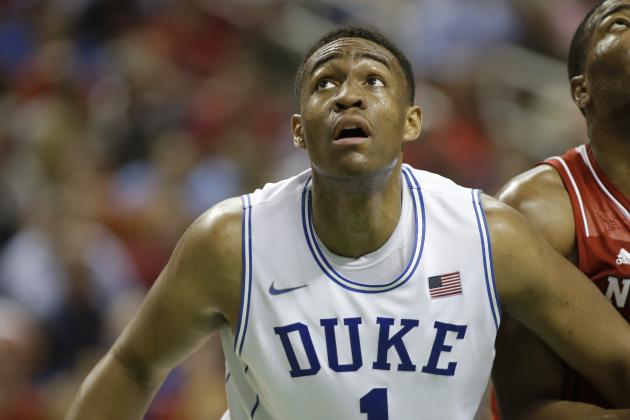 What Do Jabari Parker's College Numbers Tell Us About His NBA Future?