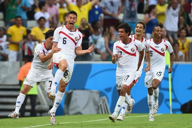 Twitter Reacts as Costa Rica Score 2 Goals in 3 Minutes vs. Uruguay