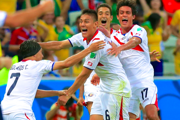 Uruguay vs. Costa Rica: Live Score, Highlights for World Cup 2014 Group D Game
