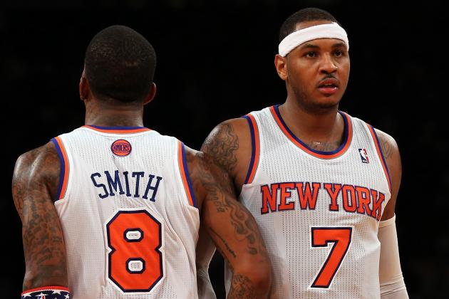 J.R. Smith Tweets That He'd Stop Talking to Carmelo Anthony If He Joined Heat