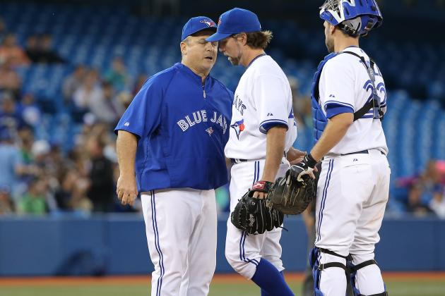 R.A. Dickey Injury: Updates on Blue Jays SP's Groin and Return