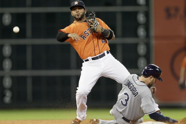 Dominguez Leads Astros over Rays 7-3