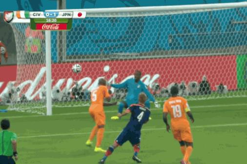 Ivory Coast vs. Japan: Goals and Highlights from Group C Match