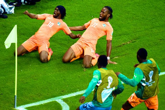 Ivory Coast vs. Japan: World Cup Group C Score, Grades and Post-Match Reaction