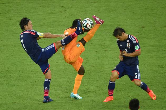 Ivory Coast vs. Japan: Live Player Ratings