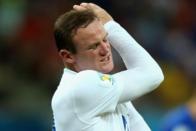 Wayne Rooney's Display vs. Italy Shows Why He's a Falling Star for Club, Country