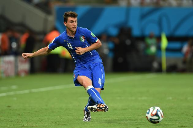 Matteo Darmian's Surprise Factor Symbolic of Italy's Long-Term World Cup Hopes