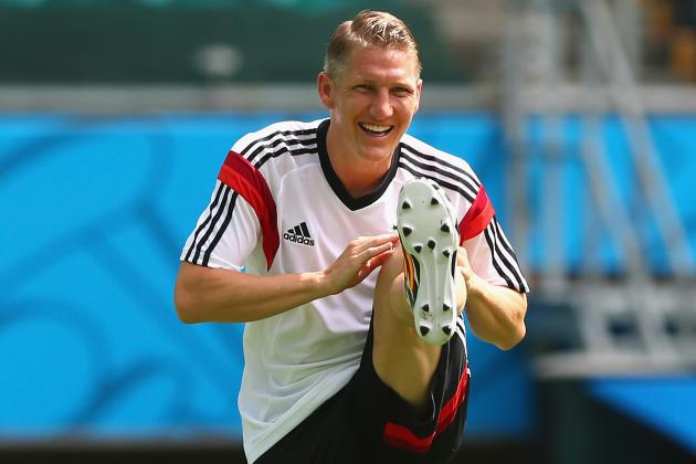 Bastian Schweinsteiger Injury: Updates on Bayern Munich Star's Knee, Return