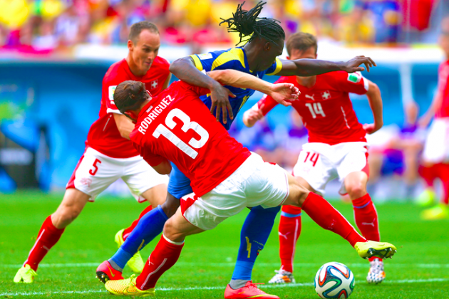 Switzerland vs. Ecuador: Live Score, Highlights for World Cup 2014 Group E Game