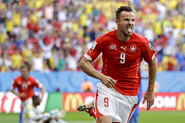 Twitter Reacts to Haris Seferovic's Late Winner for Switzerland vs. Ecuador