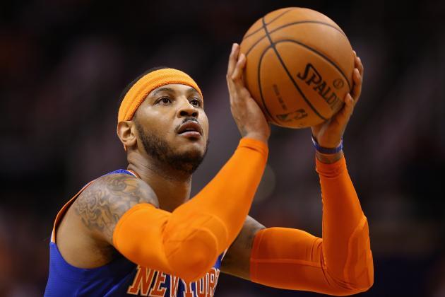 NBA Rumors: Latest Chatter Surrounding Carmelo Anthony, Kevin Garnett and More