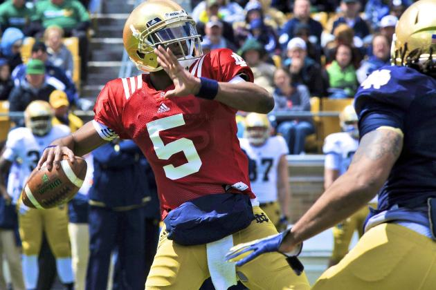Notre Dame Football: Vegas Odds Suggest Low Expectations for 2014 Irish