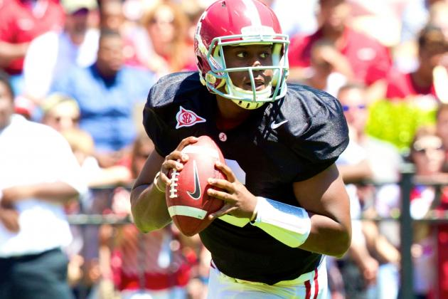 Alabama Football: Realistic Expectations for the Quarterback Position in 2014