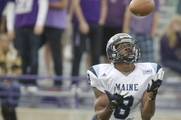 Former UMaine Receiver Looking to Get Healthy, Back with Patriots