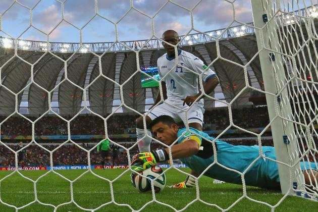Twitter Reacts to Goal-Line Technology Awarding France's 2nd Goal vs. Honduras