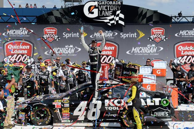 Sprint Cup Chase 2014: NASCAR Standings and Schedule After Quicken Loans 400