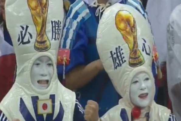 More Proof That Japan Really Does Have the Best World Cup Fans